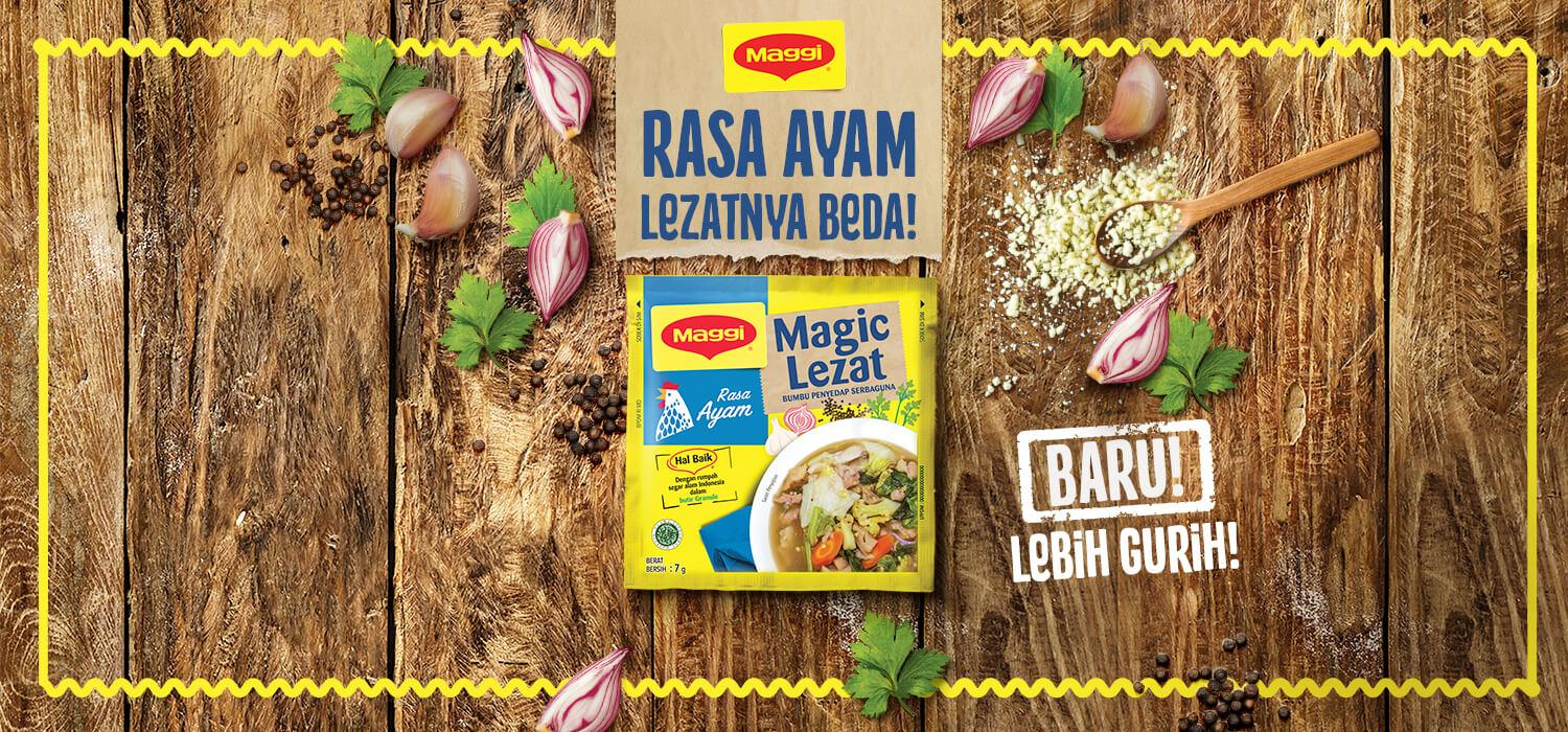 Banner - Maggi Magic Lezat Ayam
