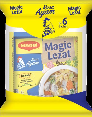 Maggi Magic Lezat Ayam Polybag isi 6